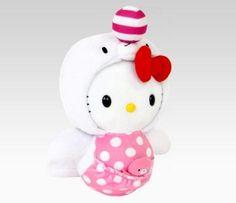 """Hello Kitty 8"""" Plush: Seal"""