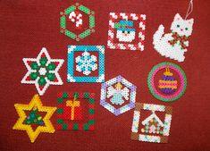 hama bead christmas patterns - Google Search
