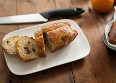 Feestelijk cranberry-sinaasappelbrood