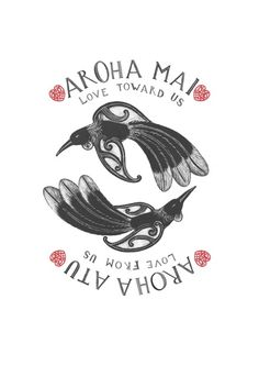 "Image of "" Aroha Mai, Aroha Atu "" ""Love toward Us, Love from Us"" Hawaiian Tribal Tattoos, Samoan Tribal, Filipino Tribal, Waitangi Day, Maori Words, Polynesian Art, Cross Tattoo For Men, Maori Designs, New Zealand Art"