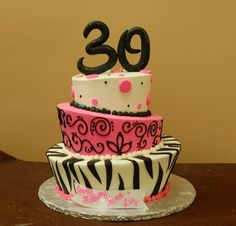 I would have loved having this cake for my 30th birthday.