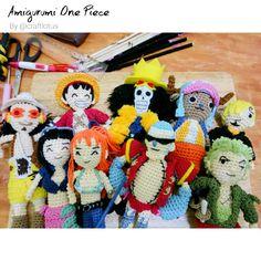 Serunya Membuat 9 Amigurumi Anggota One Piece!