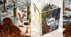Kniha Rok v lese - proč ji všichni rodiče předškoláků chtějí? Protože je jednoduše úžasná. Bohatě ilustrované dvoustrany zachycují proměny jednoho místa v průběhu celého roku. Děti mohou pozorovat chování zvířat během jednotlivých ročních období, za různého počasí a v různou denní dobu. Books, Libros, Book, Book Illustrations, Libri