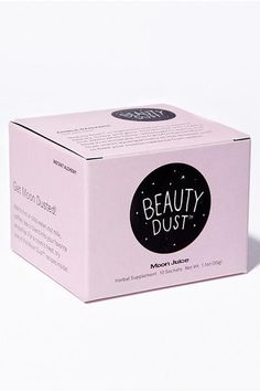 Beauty Dust is an edible formula that is designed to aid your beauty, luster and glow from within. What you'll get: supple skin, shiny hair and bright eyes from