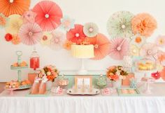 Who doesnt love a dessert buffet and this one is gorgeous!