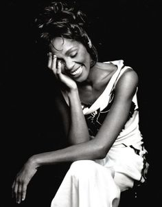 Beautiful woman, Outstanding talent, RIP Whitney Houston. You're the reason I love to sing.