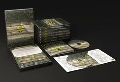 Painel Florestal - DVD cover designed for TV show about the production of planted forests in Brazil.