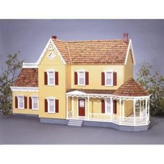 I've always wanted to build and decorate a collector's doll house!! I love the gazebo on this one!!