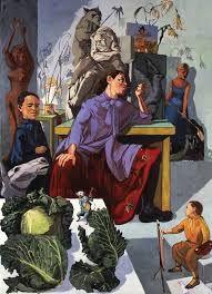 Resultado de imagem para imagens da exposição de paula rego na national art gallery em 1990 em londres