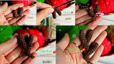 Free amigurumi pattern and crochet tutorial by Diana Patskun. Crochet Toys, Free Crochet, Marley Crochet, Knitting Patterns, Crochet Patterns, Amigurumi Patterns, Milk Color, Christmas Deer, Reno