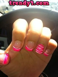 101 Best Nails Purple Pink Images On Pinterest Cute Nails