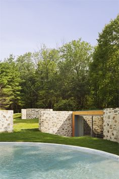 Country Estate - New Canaan, United States - 2010 - Roger Ferris + Partners #swimminpool #design #pools