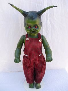 MONSTERJACK 18 Vintage Altered Doll by DeceasedArt on Etsy