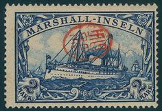 - Deutsche Kolonien Marshall Inseln, Michel 23JAP