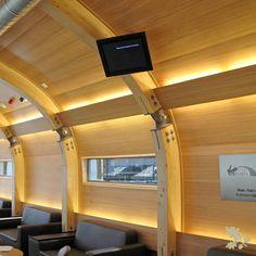 Liverpool Lime Street passenger lounge