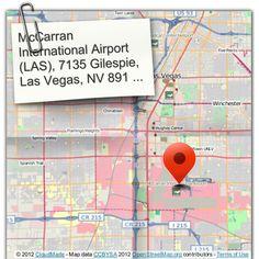 McCarran International Airport (LAS), 7135 Gilespie, Las Vegas, NV 89119, USA (courtesy of @Pinstamatic http://pinstamatic.com)
