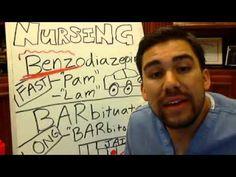 Benzodiazepines (-pam & -lam) vs. Barbituates (-Barbitol )