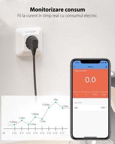 "🙂 Acum, prin intermediul aplicatiei si a prizei inteligente Blitzwolf BW-SHP8 iti poti monitoriza eficient consumul de energie. Astfel, economisesti mai #smart ca niciodata!   ❗️Partea si mai faina e ca primesti 10% DISCOUNT daca introduci codul ""VARA"" in pagina de finalizare comanda.   Sharing is caring! 😍"