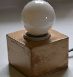 luminária industrial toquinho de madeira - iluminação dbertoli