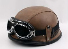 Popular Leather Motorcycle Helmets-Buy Cheap Leather Motorcycle ...