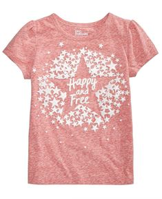 Epic Threads Toddler Girls Graphic-Print T-Shirt, Created for Macy's - Orange
