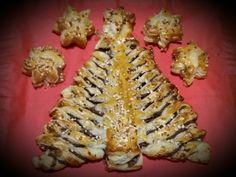 Nutellakuusi ja päärynä-kinuskitähdet 2.12.2017 Sushi, Japanese, Ethnic Recipes, Christmas, Food, Xmas, Japanese Language, Weihnachten, Navidad