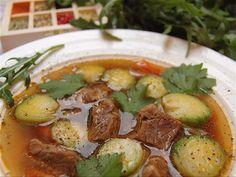 Rindssuppe mit Rosenkohl DasKochrezept.de