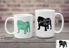 Our English Bulldog theme coffee mug is now available! Personalize with dog name and choose from a variety of color, font, and size options!  #coffeemug #dogtheme #petname #coffeecup #ceramic #personalize #coffeemugs #coffeemugaddict #coffeemugoftheday #bulldog