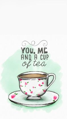 You,me and a cup of tea ♡ by Anie