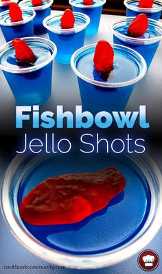 35 Best Jello Shot Recipes To Serve At Your Next Party Best Jello Shot Recipes – Fishbowl Jello Shots – Easy Jello Shots Recipe Ideas with Vodka, Strawberry, Tequila, Rum, Jolly Rancher and Creative Alcohol – Unique and Fun Drinks for Parties like Whiskey Best Jello Shots, Making Jello Shots, Jello Pudding Shots, Vodka Jello Shots, Summer Jello Shots, Luau Jello Shots, Birthday Jello Shots, Tipsy Bartender Jello Shots, July 4th Jello Shots