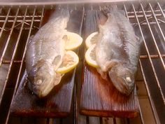 Get this all-star, easy-to-follow Rainbow Trout Roasted on a Cedar Plank recipe from BBQ with Bobby Flay