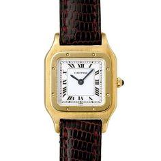 Cartier 【吉祥寺R's】カルティエ18KYGサントス1980年代レディース 時計 Watch Antique ¥268000yen 〆05月18日
