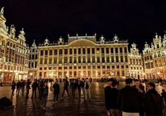 Balade nocturne sur la Grand-Place de Bruxelles