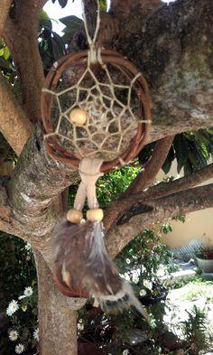attrape  rêves  naturel   ref: DC 160513 de la boutique IndianHeritageArts sur Etsy