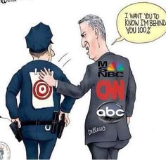 This picture brings tears toy eyes and pain to my heart since I have so many family members fighting on that blue line Cop Wife, Police Wife Life, Political Quotes, Political Cartoons, Satirical Cartoons, Satire, Cops Humor, Cop Jokes, Police Lives Matter