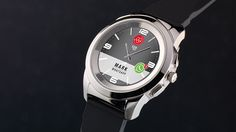 ZeTime: World's first smartwatch with hands over touchscreen by MyKronoz Switzerland —Kickstarter