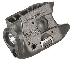 The ultra-compact TLR-6 weapon light with C4 LED and integrated red aiming laser features tool-less battery replacement without removal from the weapon or the need to re-sight the laser. The light pro