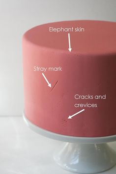 How to repair cracks and elephant skin in fondant after you've already covered the cake Cake Decorating Techniques, Cake Decorating Tutorials, Cookie Decorating, Decorating Cakes, Decorating Ideas, Cake Icing, Eat Cake, Cupcake Cakes, 3d Cakes