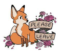 Rude Foxes by Oak