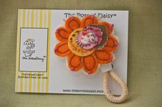 Ponytail Holder Cheerful Ponytail Holder with by thepotteddaisy, $16.75