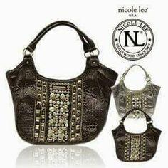 25 mejores imágenes de bolsas Nicole Lee fashion design handbag ... 1819d2aa34b1