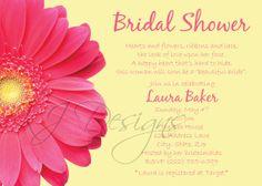 BRIDAL shower invitation  Digital version  gerber by kjdesignsshop, $8.00