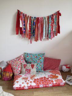 Parure housse de couette taie d 39 oreiller enfant droles - Coin lecture chambre enfant ...