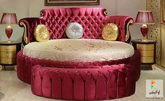 أحدث ديكور سرير دائري من ايكيا