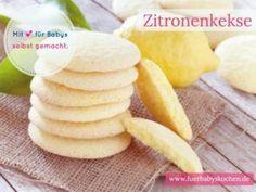 Fruchtige Kekse ohne Zucker für Babys selber machen. Die Kekse sind weich und können auch von Babys ohne Zähne gelutscht werden.