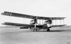 Airco DH.10 three-seat heavy bomber. This is the first DH.10 with Liberty engines. Serial number C8860.