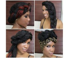 Check out my latest article on Carol's Daughter's transitioningmovment.com! 8 Simple Styles for Box Braids