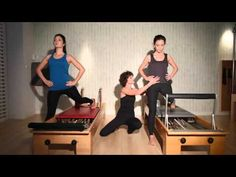 Reformer - Hip Extension-Glutes - YouTube