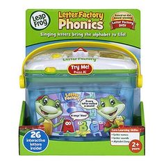 LEAPFROG LETTER FACTORY PHONICS from Honor Roll Childcare Supply.
