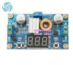 5A High power 75W DC DC adjustable step down module with a voltmeter Beyond LM2596 High power - 7$